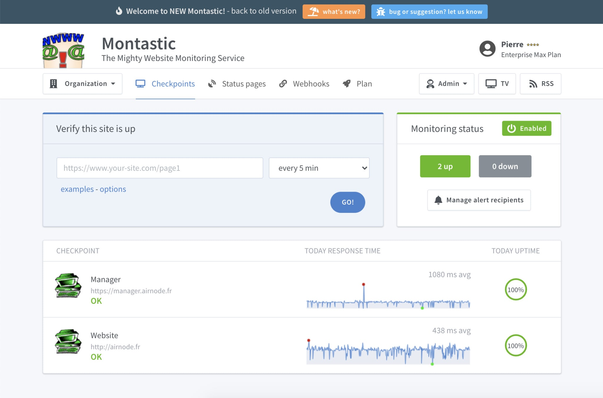 montastic project